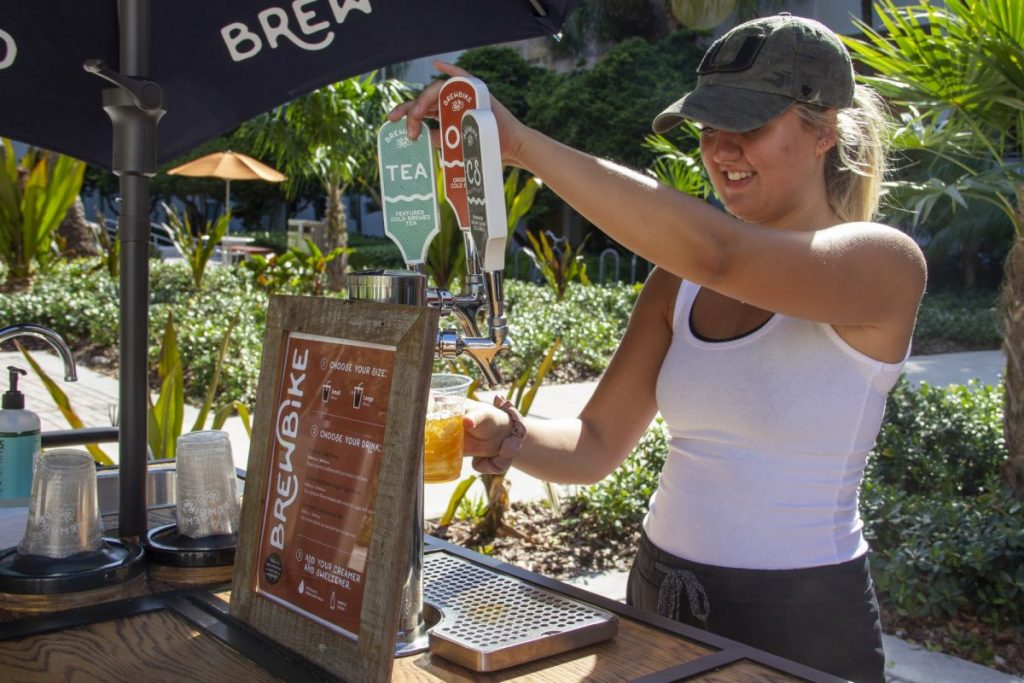 Student-run 'BrewBike' brings coffee, opportunity to UM students