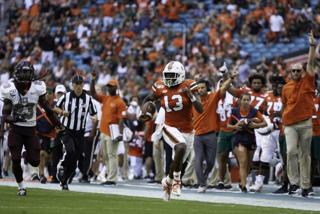 Hurricanes to take on Central Michigan, look for second win of season