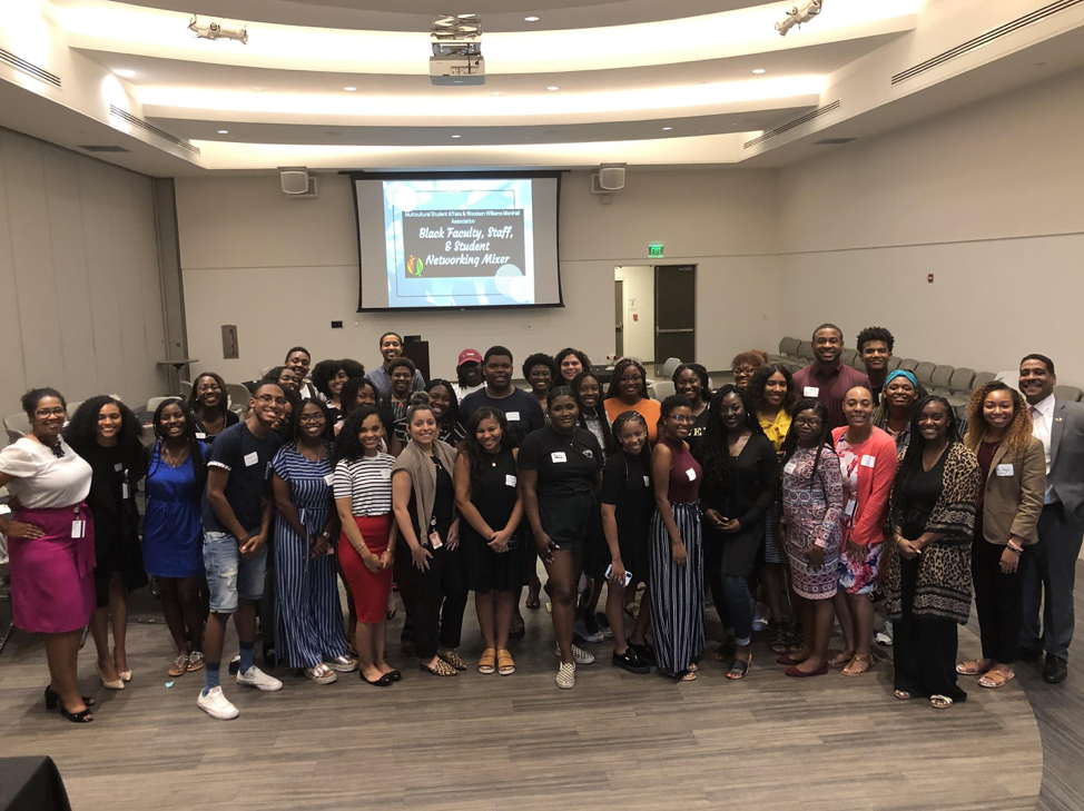 Black students, staff, faculty mix things up at networking event