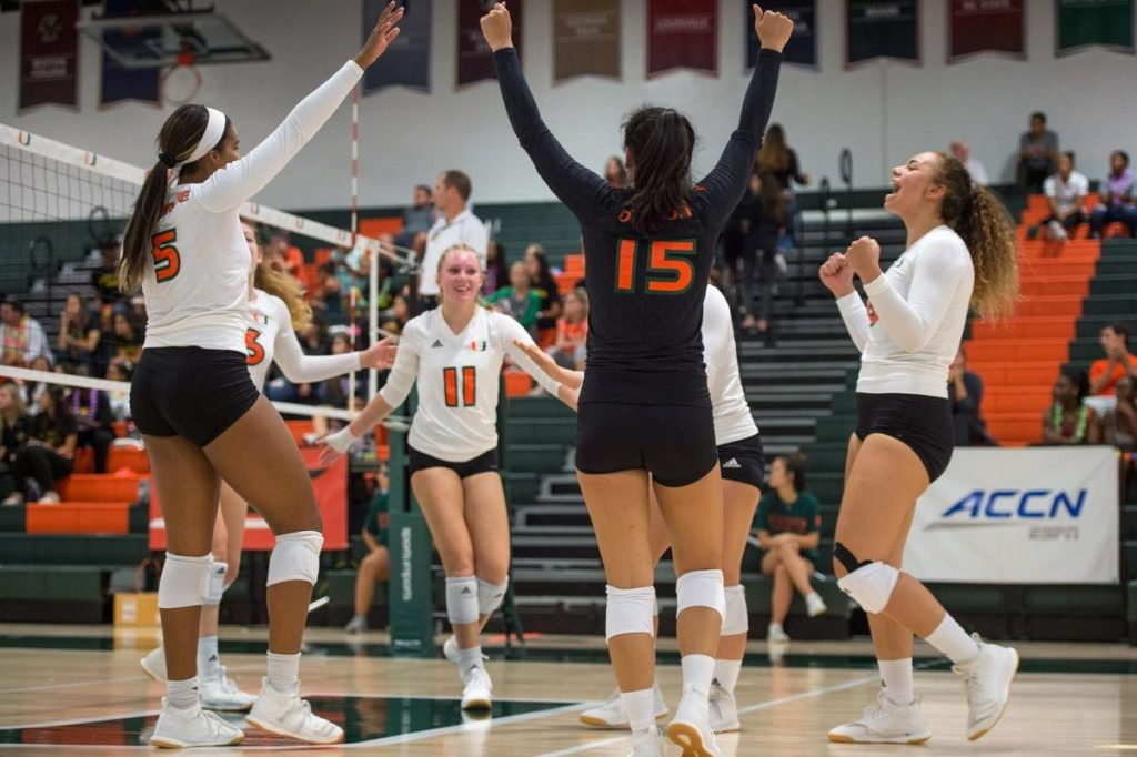 UM volleyball dominates Hurricane Invitational