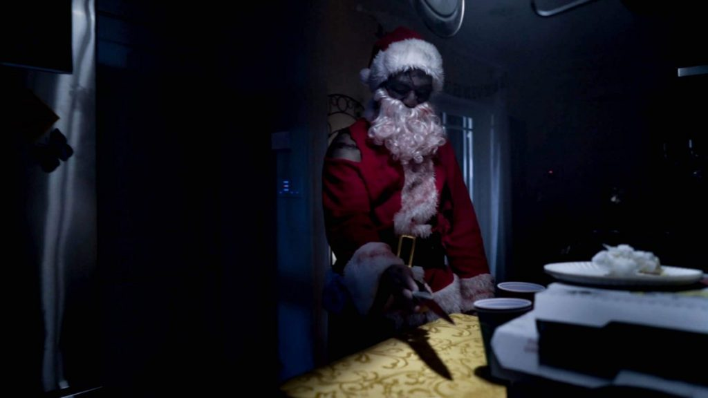 When Christmas meets horror, 'Santastein' is born