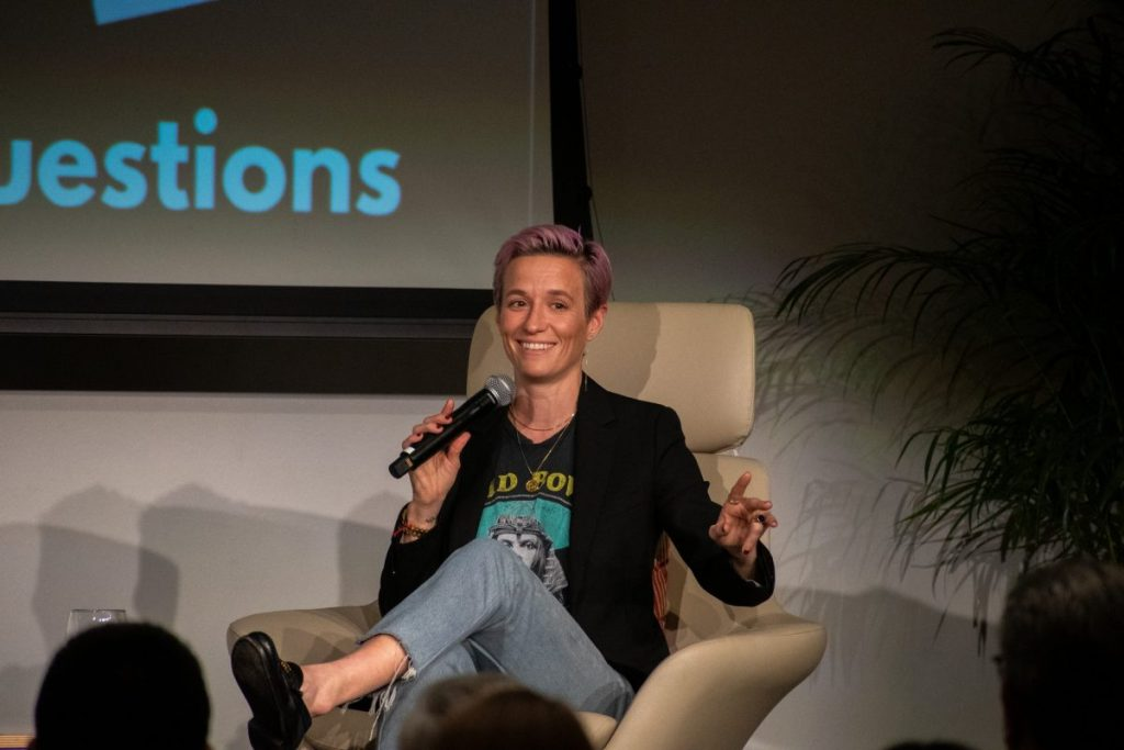 World champion Megan Rapinoe on fighting for justice, changing the game