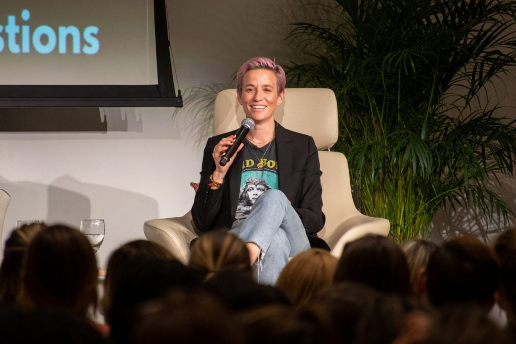 What we can learn from Megan Rapinoe's visit to UM