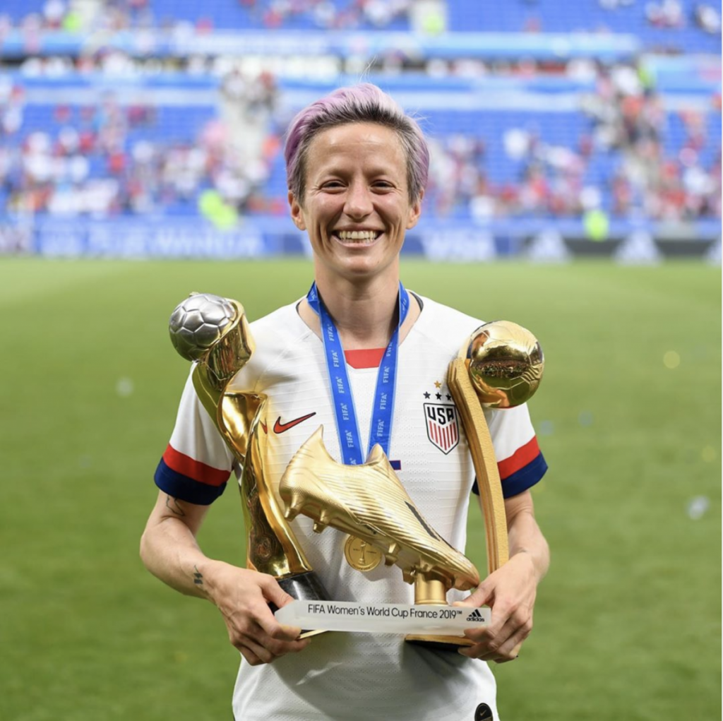 Megan Rapinoe to speak at 'What Matters to U'