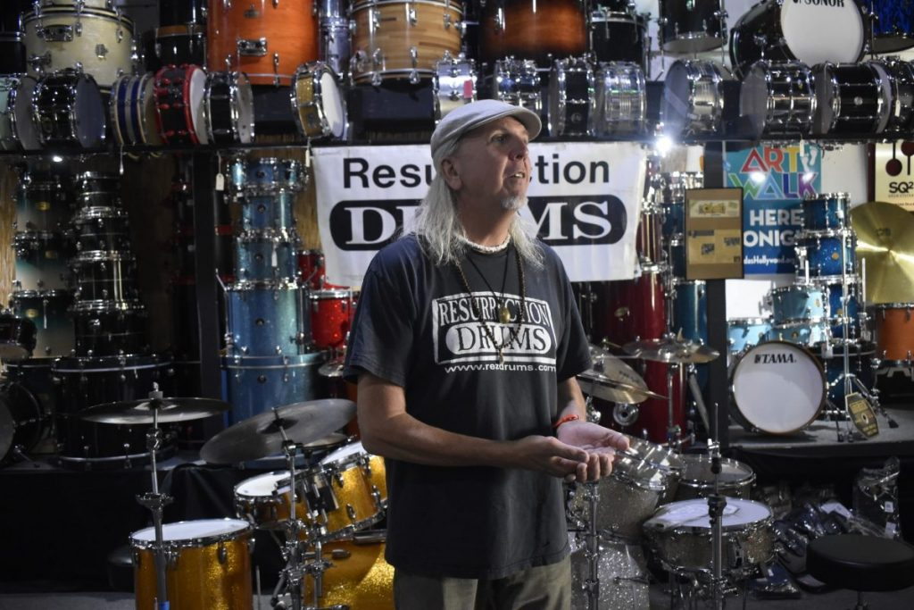 Resurrection Drums: A percussionist's dream