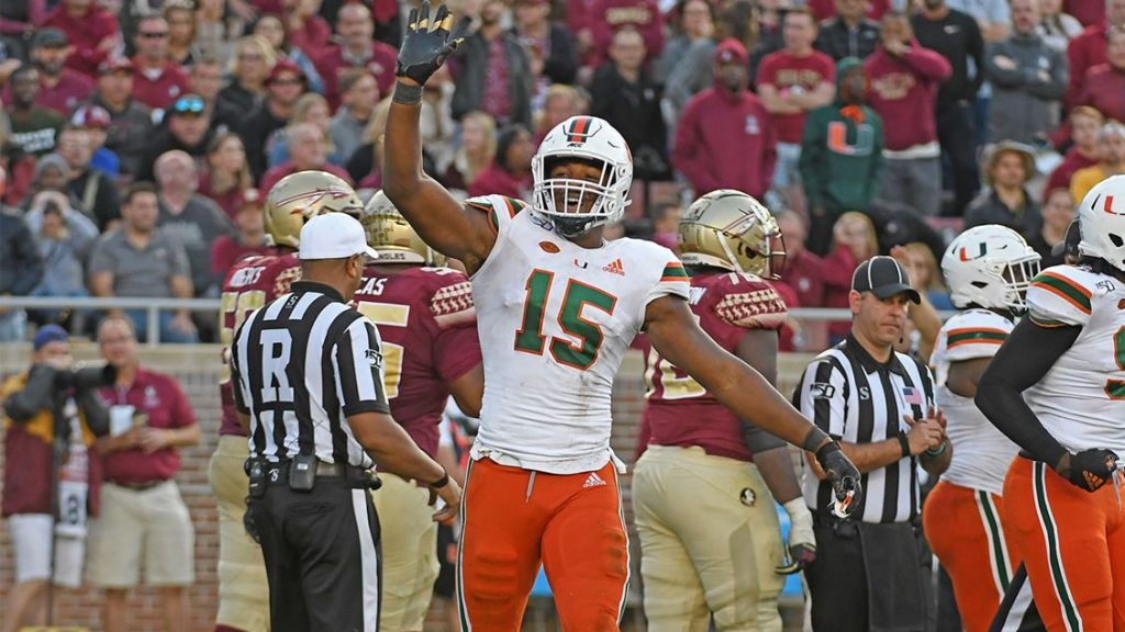 Miami finally plays to full potential against Florida State