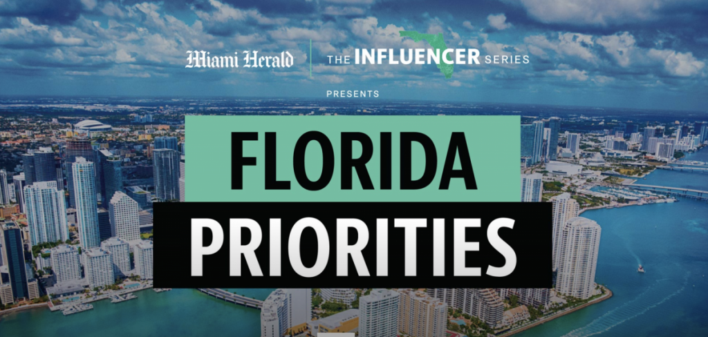 Florida Priorities Summit to facilitate discussions on issues impacting community