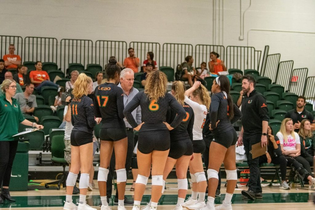 Hurricanes fall to Louisville on Friday, beat Notre Dame on Sunday