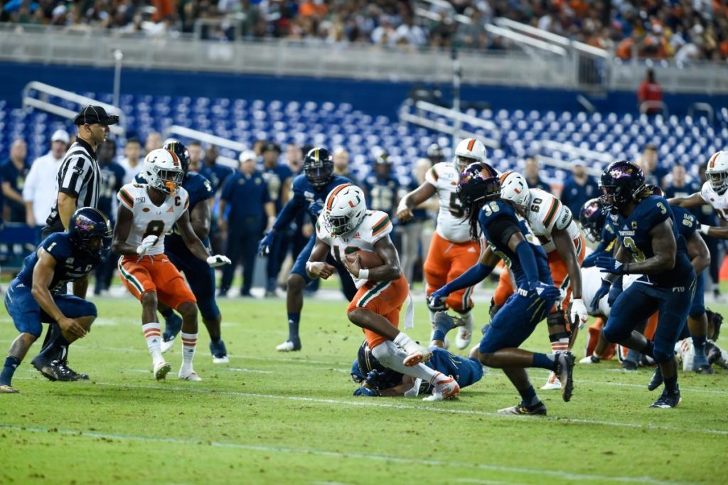 Miami stunned by FIU at site of former Orange Bowl
