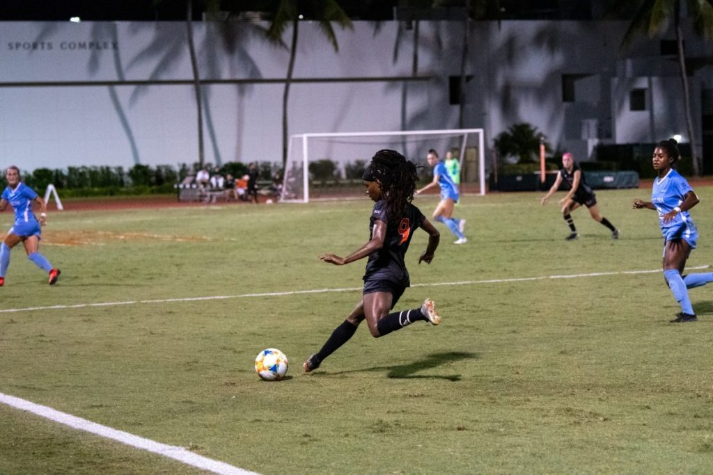 Women's soccer falls in final game of season