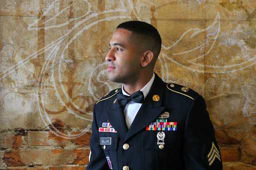 Veteran student discusses his journey of service
