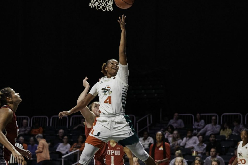 Endia Banks scores career high 23 points, Miami holds off IUPUI