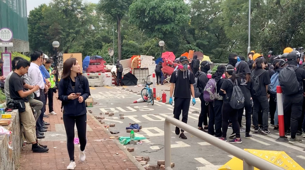 UM students witness protests, flee Hong Kong