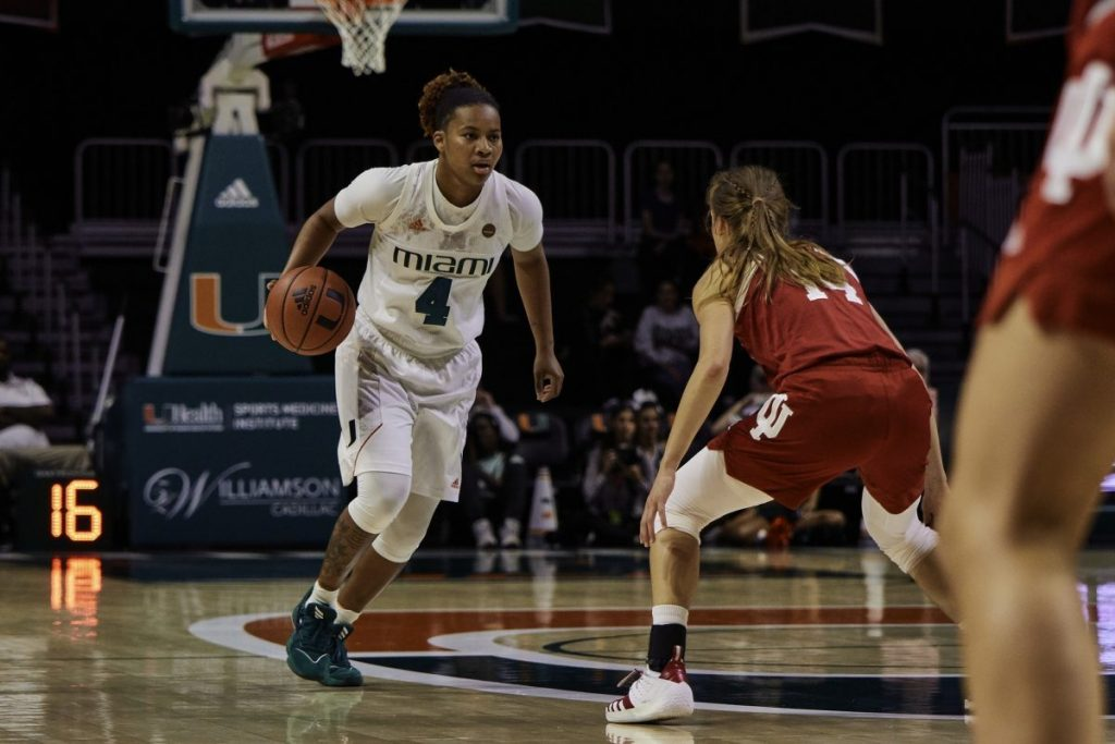 Women's basketball falls to Indiana in Big Ten/ACC Challenge