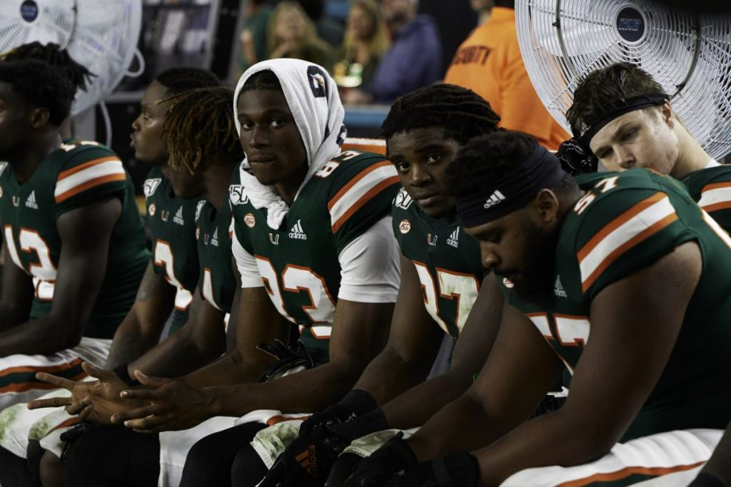 Miami football ends season with losing record after 14-0 bowl game loss