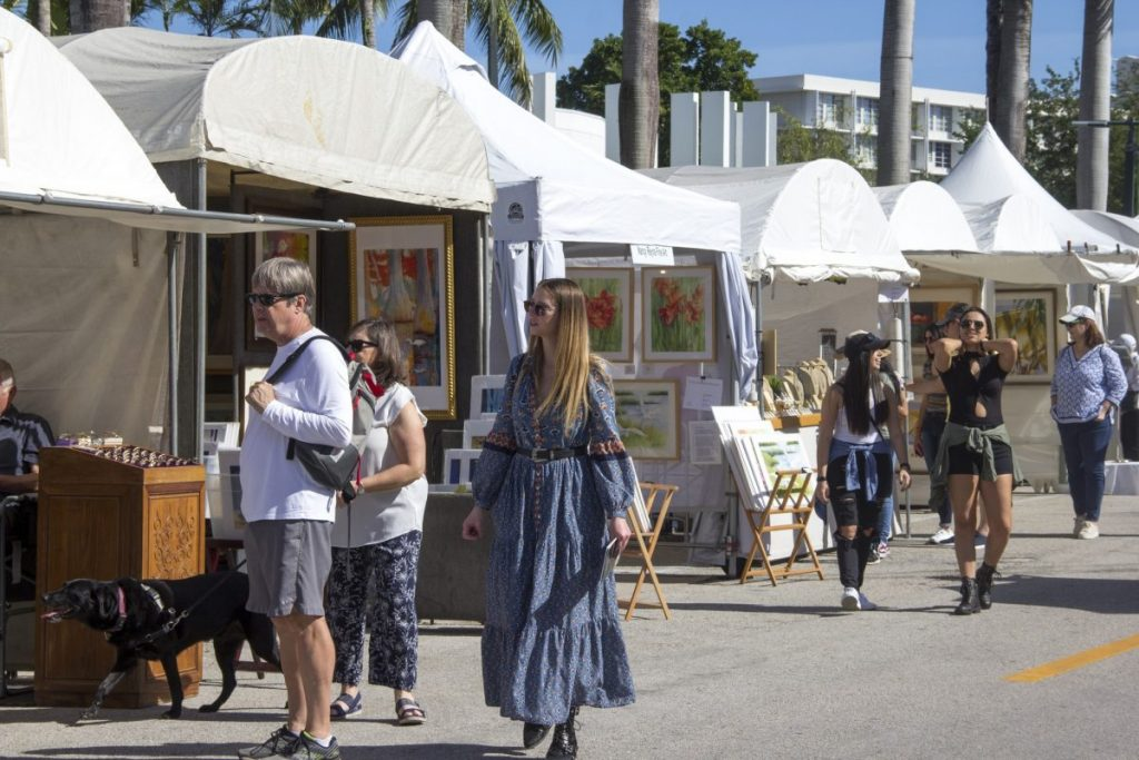Snapshots from the Beaux Arts Festival