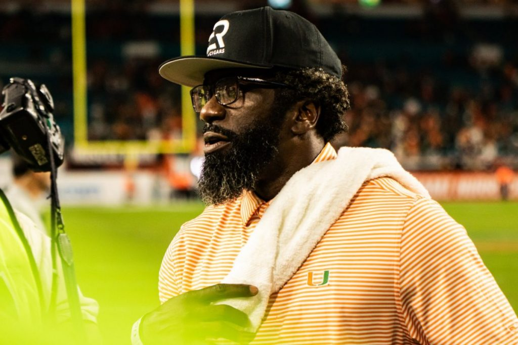Former Hurricane Ed Reed set to join football program as Chief of Staff