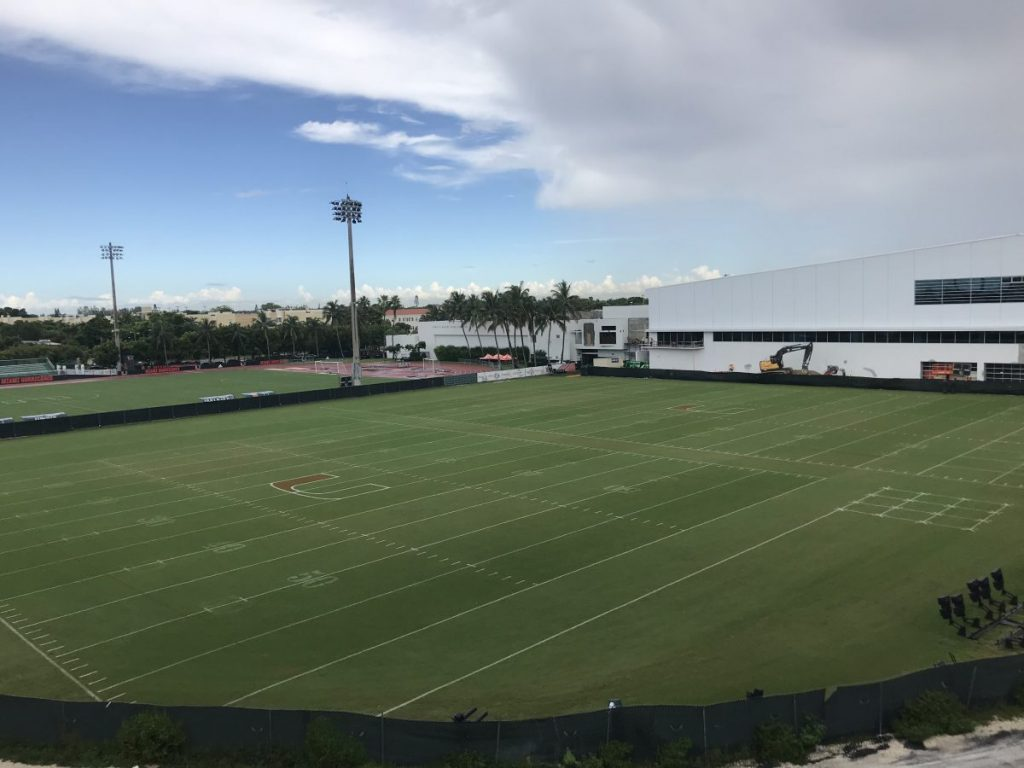 UM reportedly forced to replace Greentree practice field after 49ers deemed it unsafe