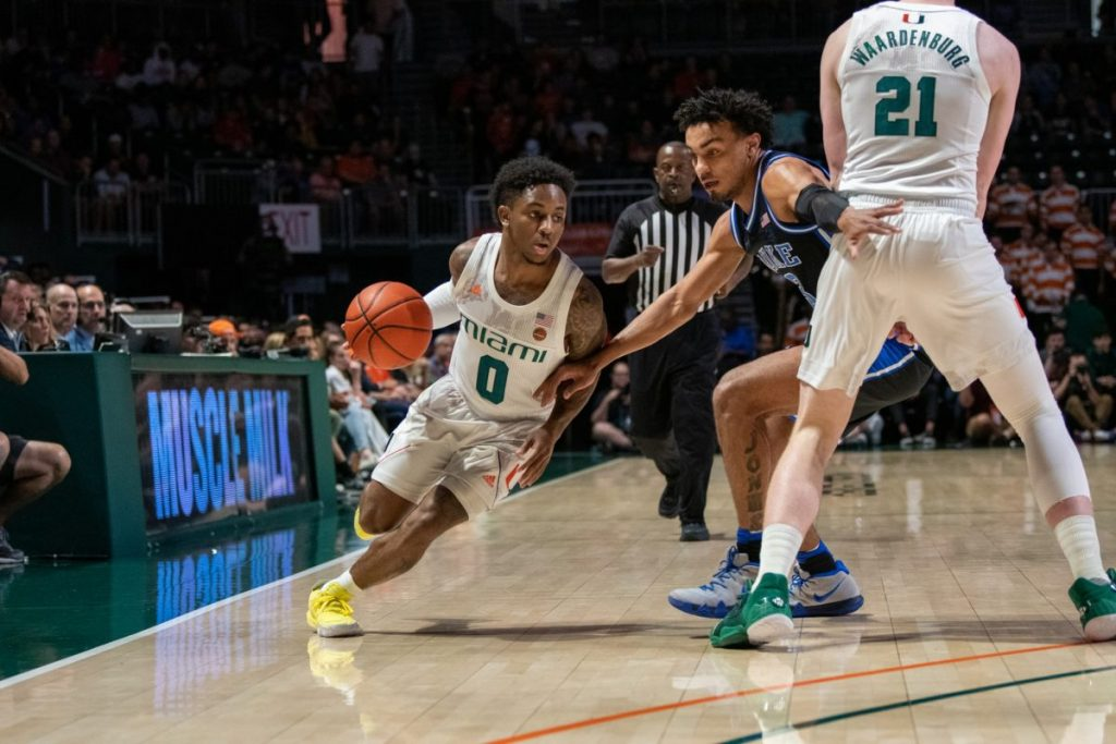 Duke overwhelms Miami, Canes fall 95-62 at home