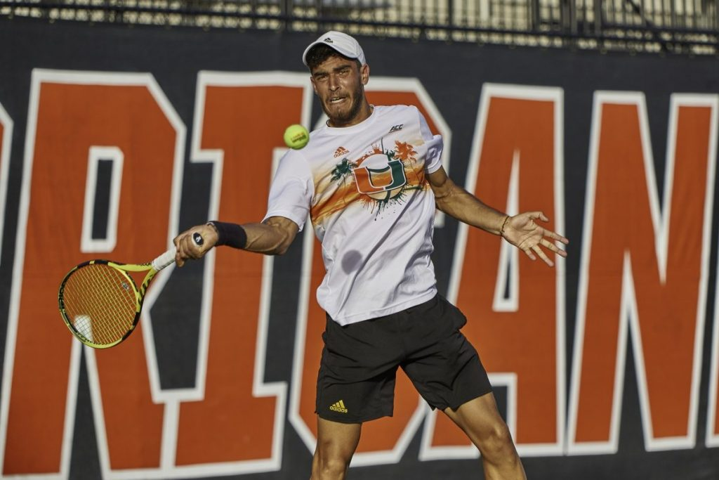 Gallery: Men's tennis host Miami Spring Invite