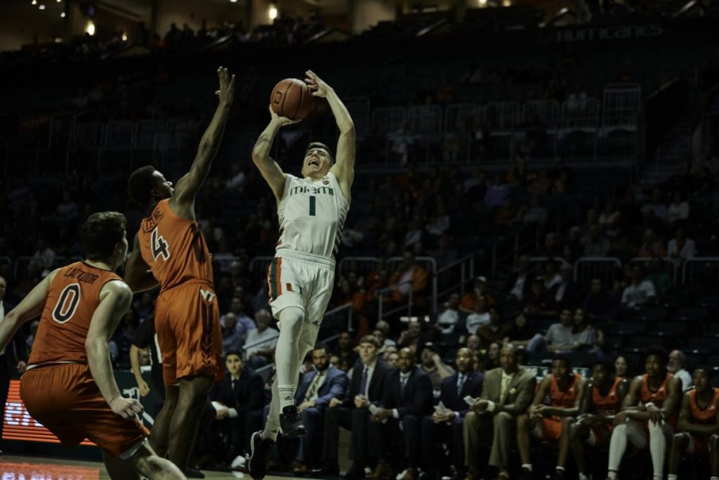 Hurricanes snap four game losing streak with win over Virginia Tech