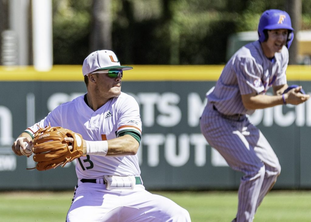 Miami struggles with hitting, swept by Florida