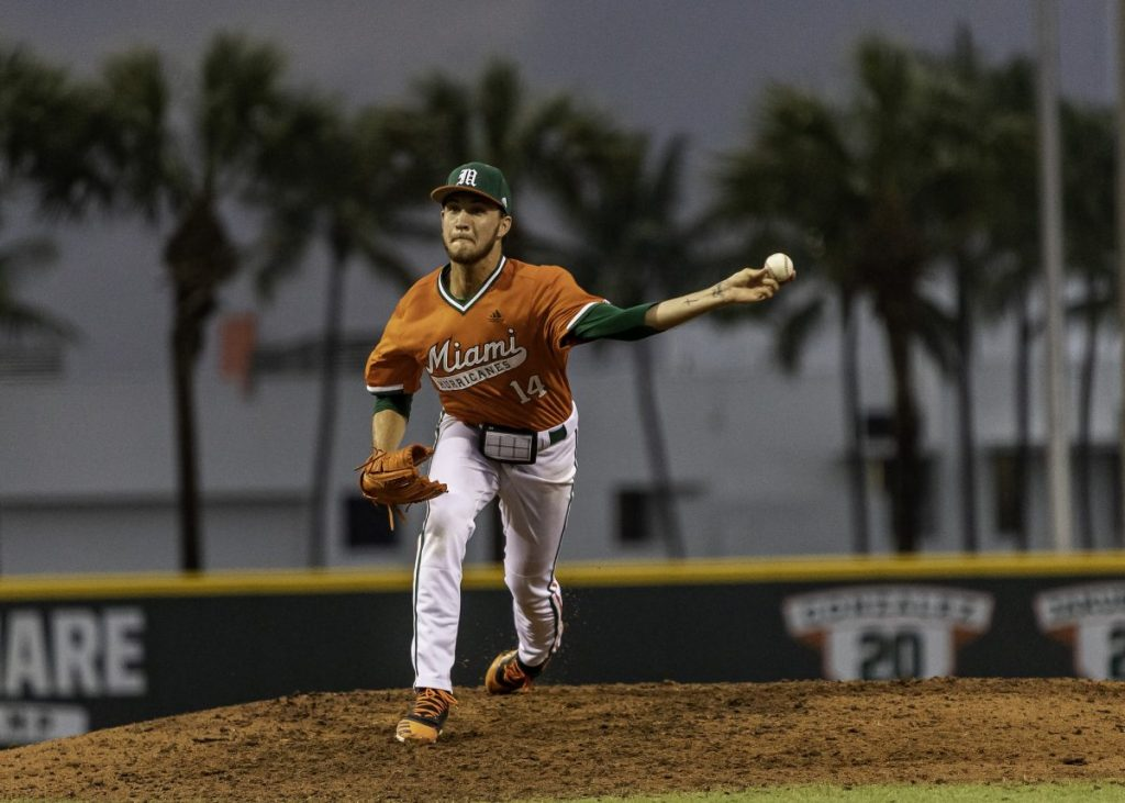 Palmquist shines in win, but Canes still struggle with pitching
