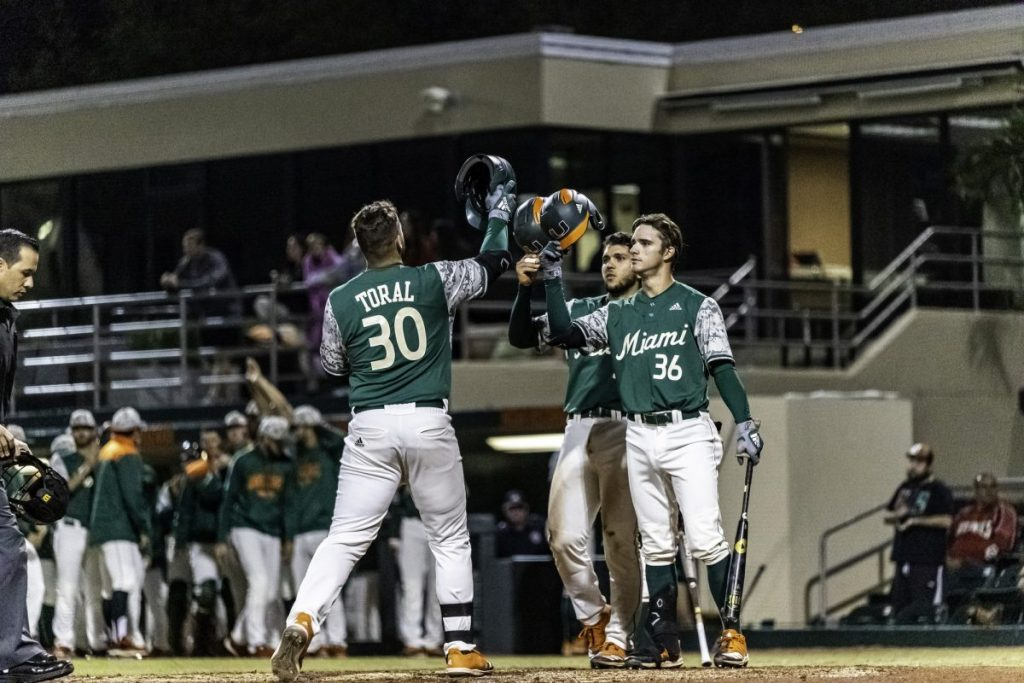 Toral and Vilar's home runs lift Canes to win over Towson
