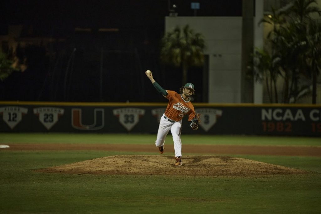 Canes baseball ranked No. 1 after opening weekend sweep