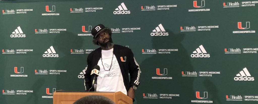 Ed Reed explains his new role and why he came back to Miami