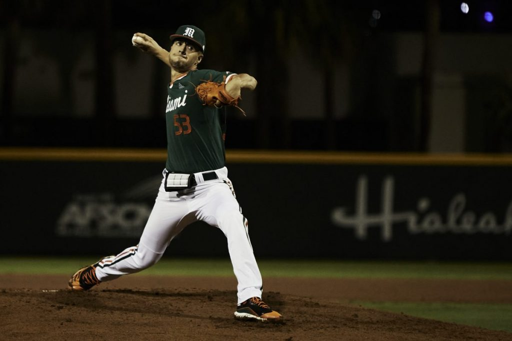 Pitching powers Hurricanes to opening night win