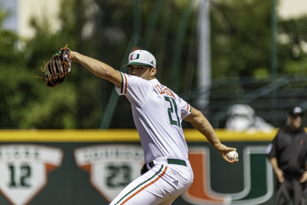 Hurricanes collect 18 hits on Sunday, sweep Pitt in opening weekend of ACC play