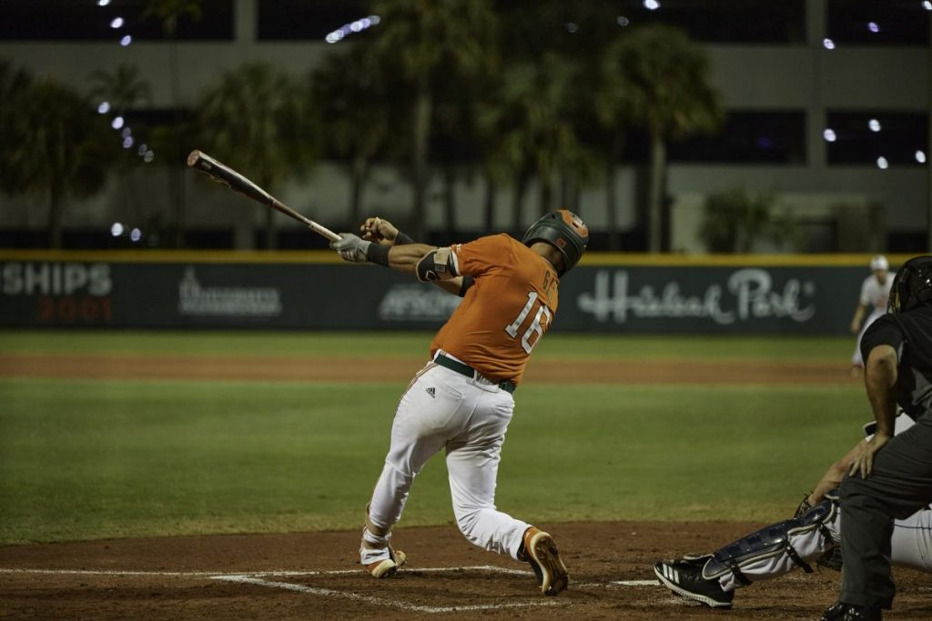 The No. 7 ranked Miami baseball team will be suspended from playing until further notice.