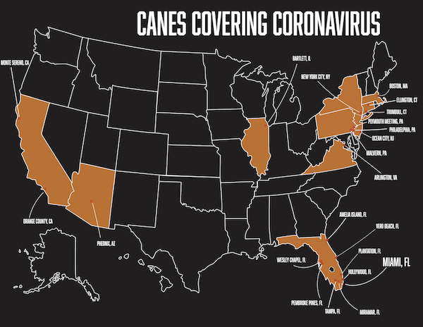 Introducing The Hurricane's newest blog: 'Canes Covering Coronavirus'