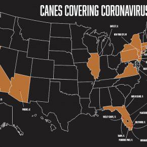 V5 Coronavirus Map