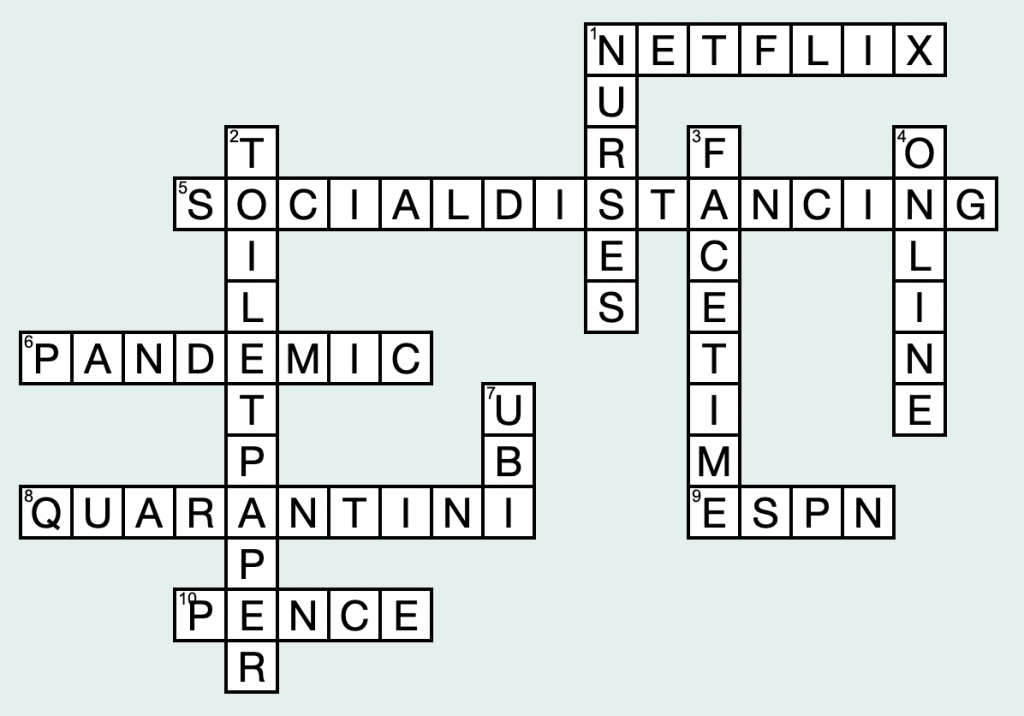 Crossword by Amir Mahmoud and Anna Timmons