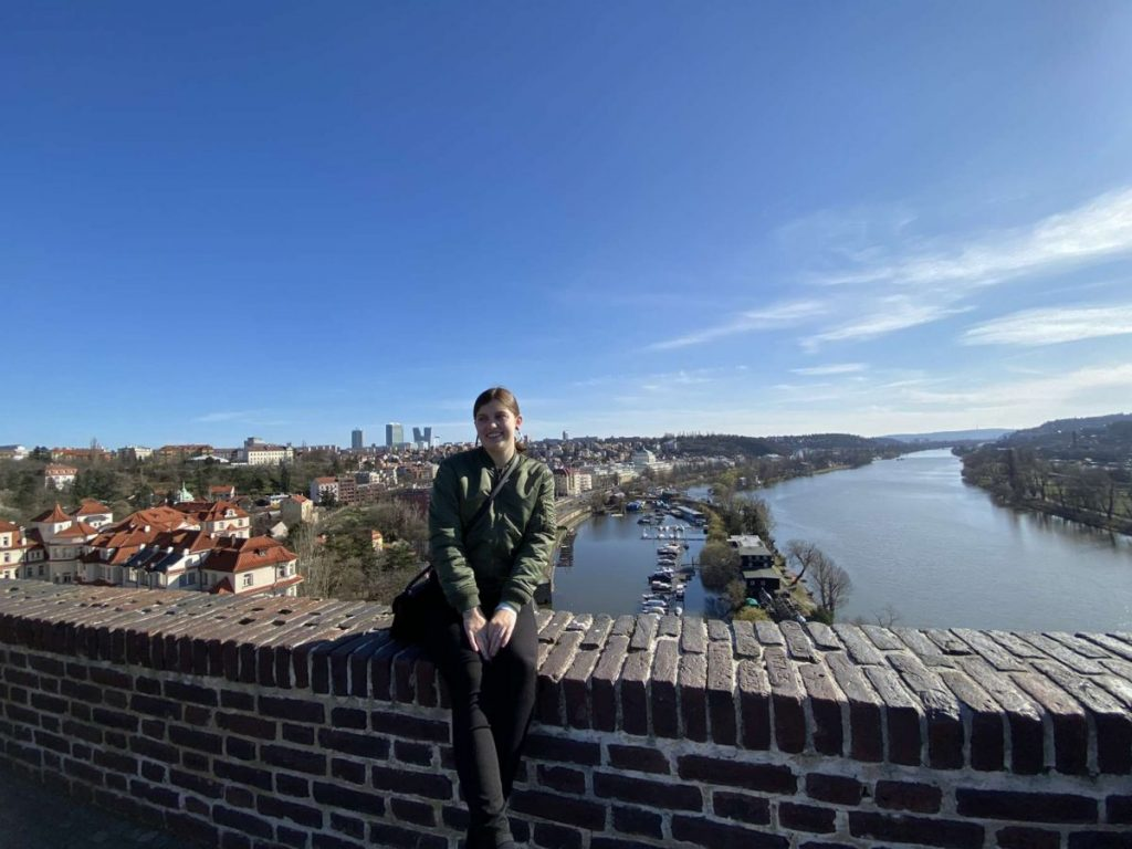 Ella Pokrifka was enjoying her semester abroad in Prague before she had to rush home following travel bans ordered by the U.S. and Czech Republic.