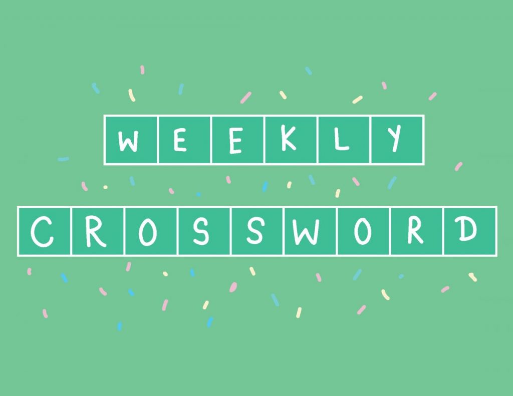 Crossword: April 19 – April 25