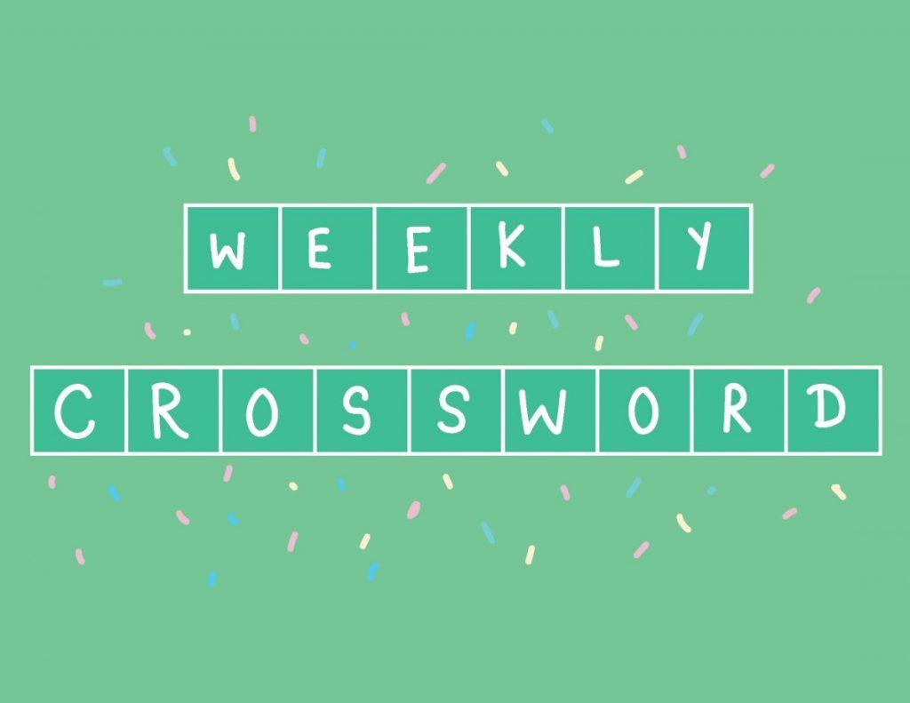 Crossword: April 26 – May 2