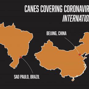 International Coronavirus Map Version 2