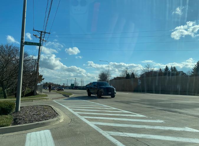 Route 59 empty