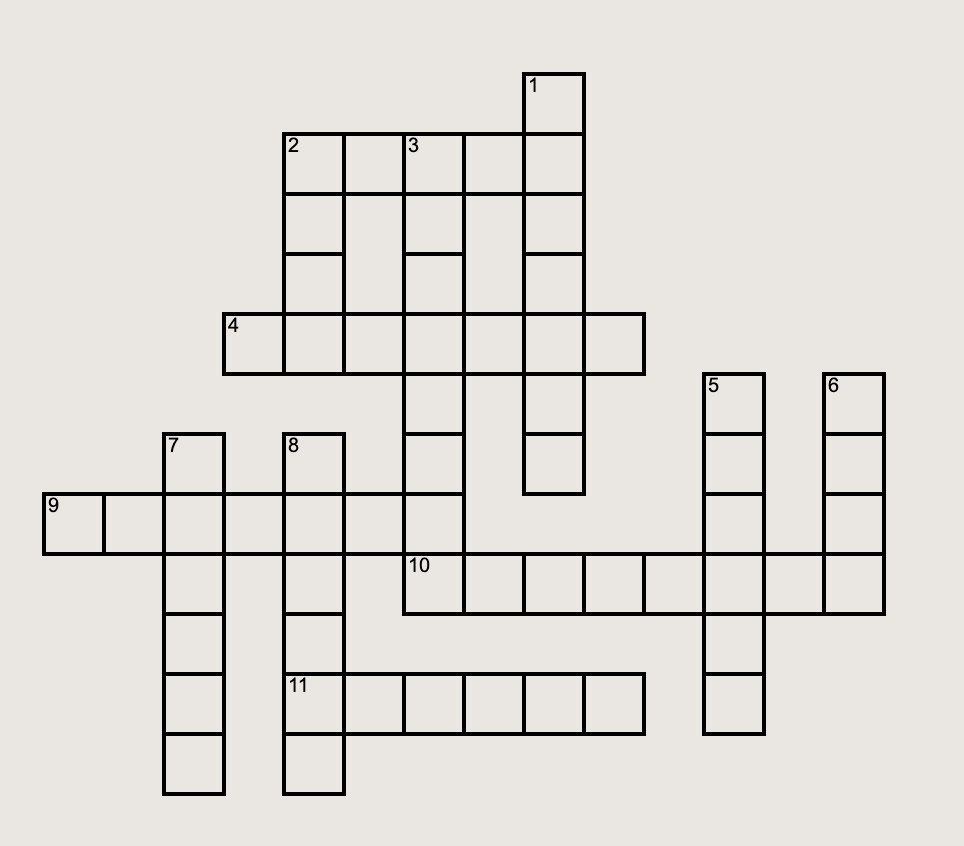 Crossword by Assistant News Editor Noor Khaled