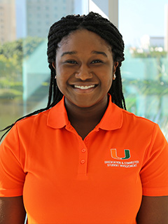 Doreen Gustave will be the first Black president of The President's 100, a selective group of student ambassadors that represent the university during tours and other events.