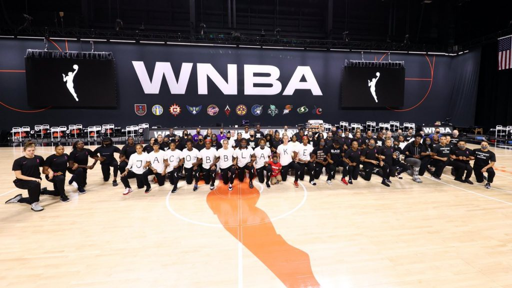 Former UM women's basketball players participate in WNBA strike; Hurricanes react to police shooting of Jacob Blake