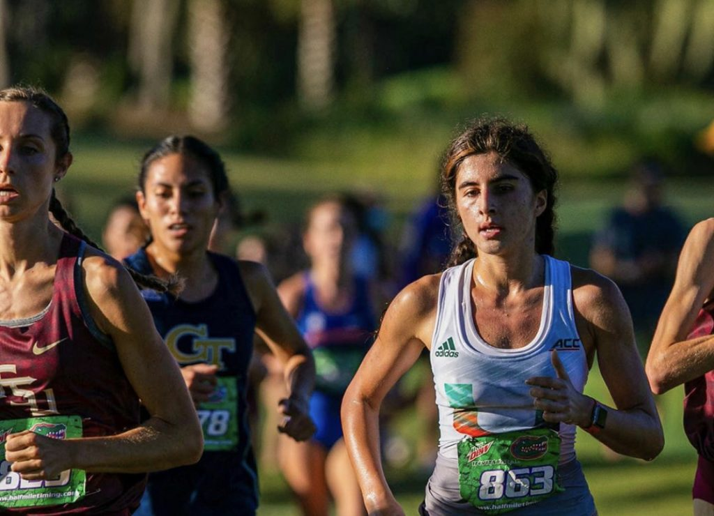Freshman Daphnee Lavassas broke into seventh place on the all-time list at UM in the
