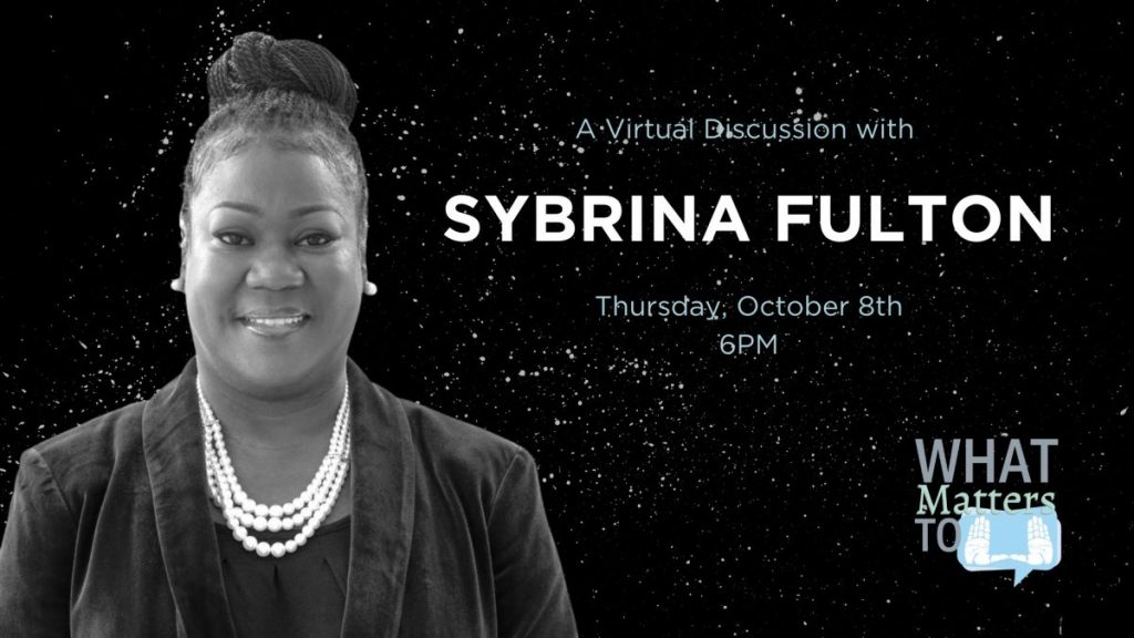 Sybrina Fulton announced as What Matters to U speaker