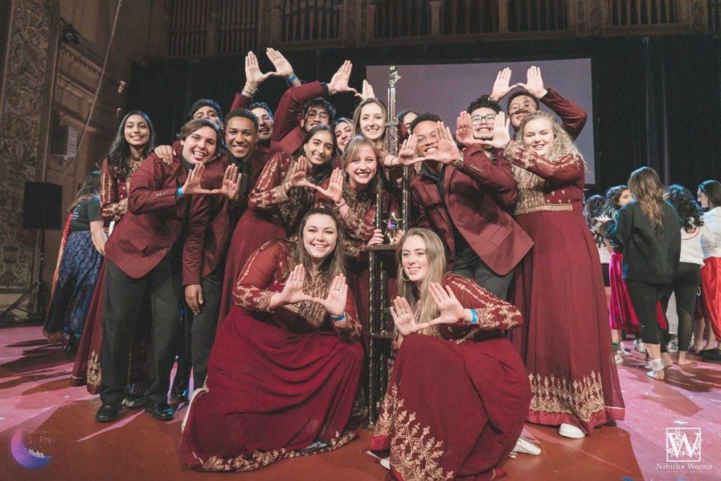 Tufaan -- UM's multicultural a capella group -- competes in the Steel City Sapna, a yearly competition held in Pittsburg, Pennsylvania.