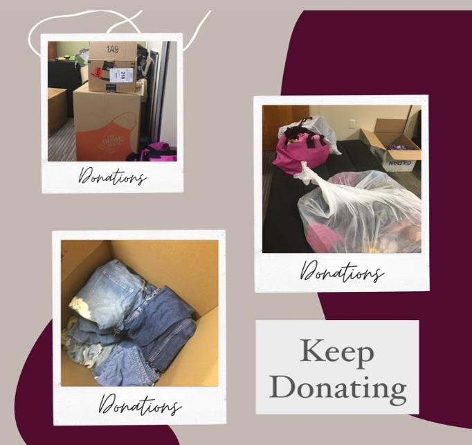 Lambda Theta Alpha teams with Uthrift, Lucha Latina to collect clothes for detained immigrant children