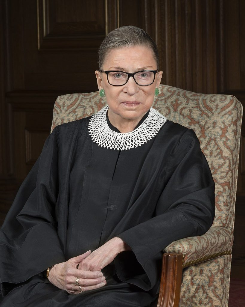 An ode to Ruth Bader Ginsburg