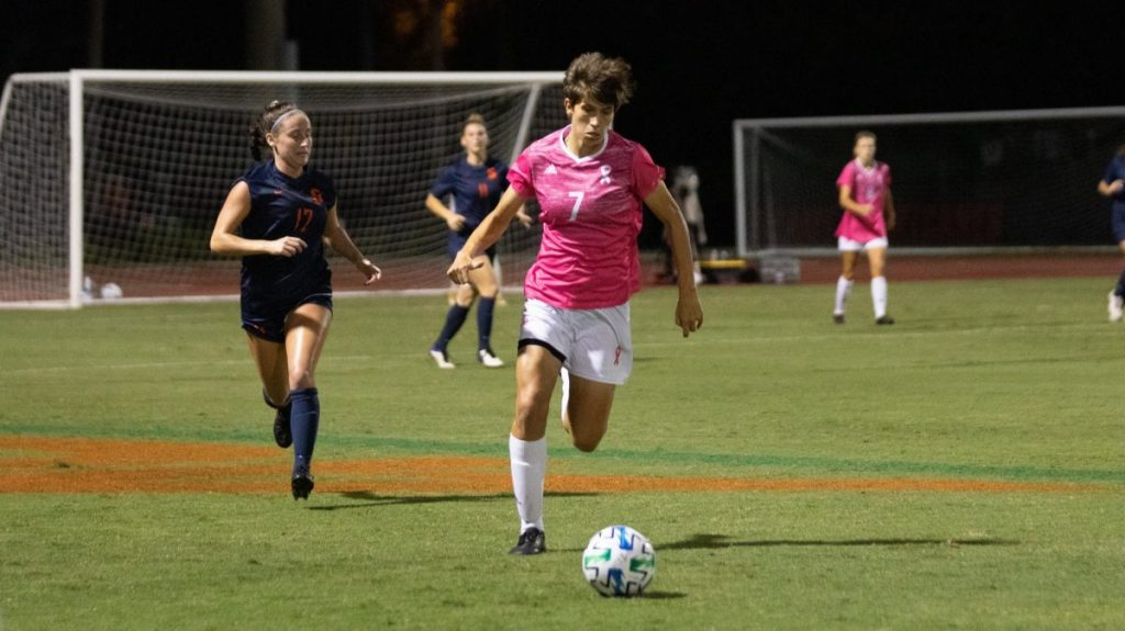 Women's soccer falls to Syracuse 1-0 at home